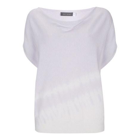 Tie Dye Batwing Sweater, ${color}
