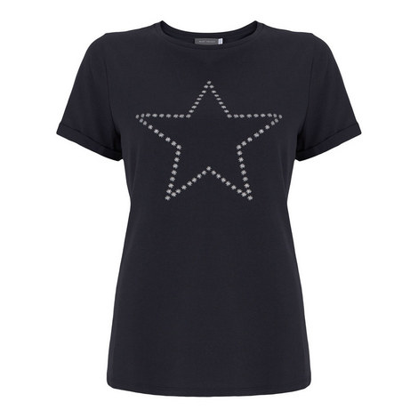 Star Printed T-Shirt, ${color}