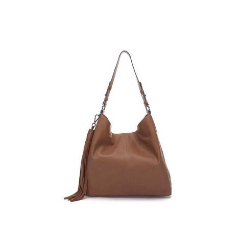 Sally Chestnut Tassel Bag, ${color}
