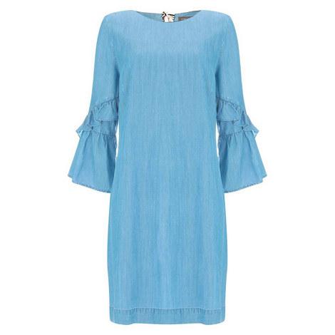 Chambray Shift Dress, ${color}