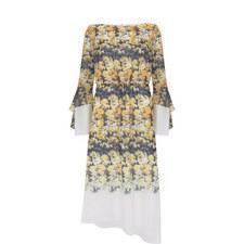 Bianca Print Midi Dress