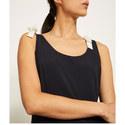 Tie-Shoulder Dress, ${color}