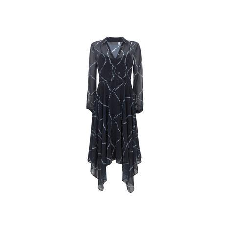 Kelly Printed Chiffon Dress, ${color}