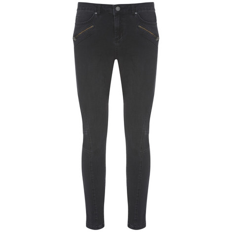Darby Washed Black Biker Jeans, ${color}