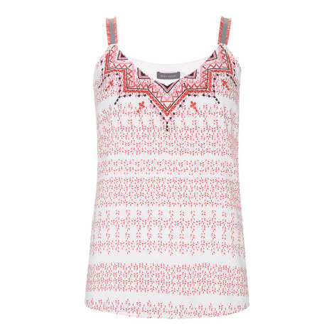 Hannah Printed Camisole, ${color}