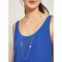 Star Chain Necklace, ${color}