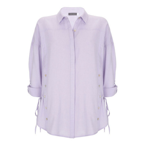 Lilac Cotton Shirt, ${color}