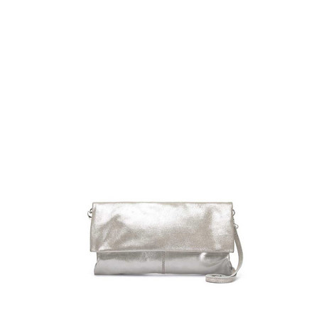 Lily Silver Clutch Bag, ${color}