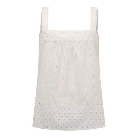 Broderie Anglaise Camisole, ${color}