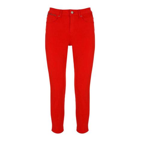 Split Hem Jeans, ${color}