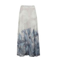 Pepper Printed Maxi Skirt
