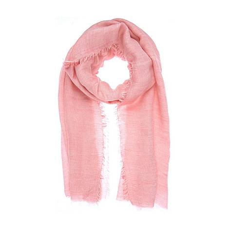Raspberry Frayed Scarf, ${color}