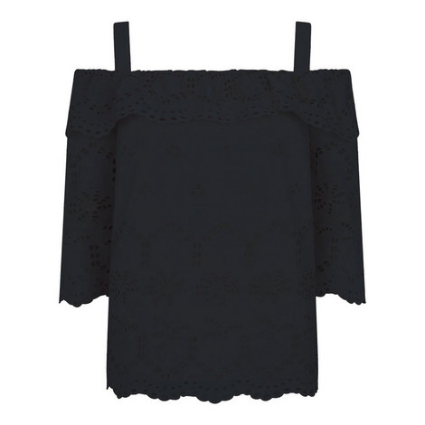 Broderie Anglaise Top, ${color}