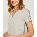 Marl Sequined T-Shirt, ${color}