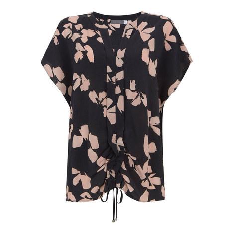 Jessica Print Cocoon T-Shirt, ${color}