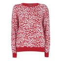 Leopard Jacquard Sweater, ${color}