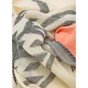 Cotton Jacquard Scarf, ${color}