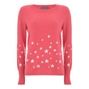 Star Printed Sweater, ${color}