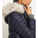 Quilted Faux Fur Parka, ${color}