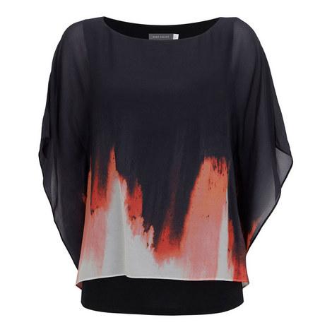 Savannah Print Layered T-Shirt, ${color}