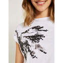 Ivory Butterfly Sequined Tee, ${color}