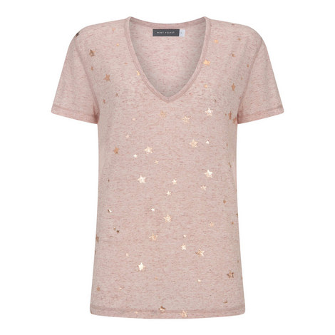 Star Print T-Shirt, ${color}