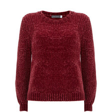 Chenille Cropped Knit