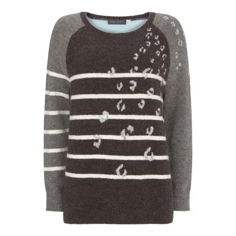 Stripe & Leopard Knit, ${color}