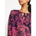 Connie Print Neck-Tie Blouse, ${color}