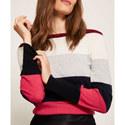 Striped Colour Block Knit, ${color}