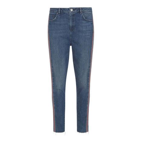 Joliet Side Stripe Skinny Jeans, ${color}
