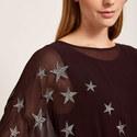 Chiffon Star Layered Top, ${color}