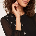 Star Embroidered Dress, ${color}
