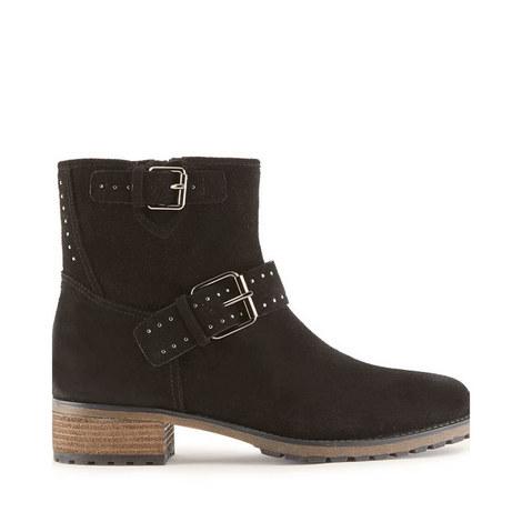 Nina Suede Biker Boots, ${color}