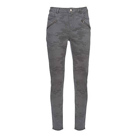 Westwood Camo Biker Jeans, ${color}