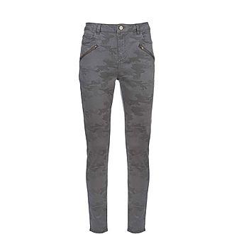 Westwood Camo Biker Jeans