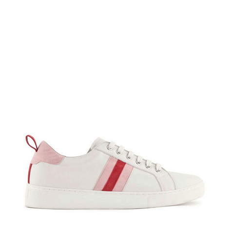 Allie Striped Trainers, ${color}
