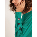 Buttoned Batwing Knit, ${color}