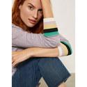 Striped Cuff Knit, ${color}
