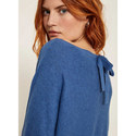 Tie Back Batwing Knit, ${color}