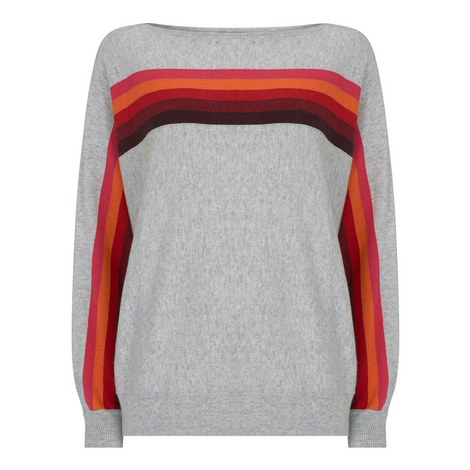Rainbow Batwing Knit, ${color}