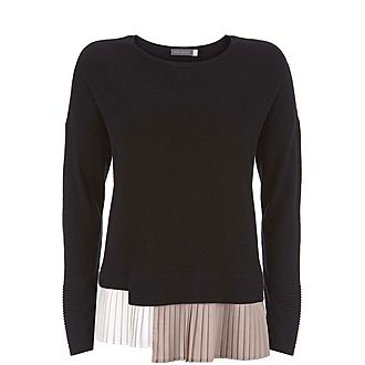 Pleated Layer Sweater