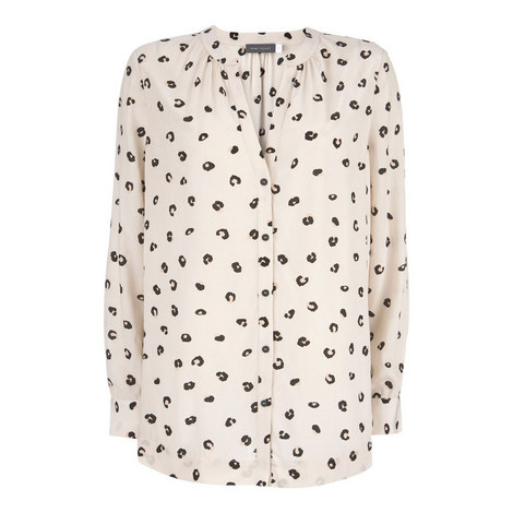 Holly Print Blouse, ${color}