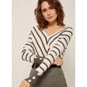 Chevron Stripe Knit, ${color}