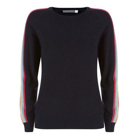 Rainbow Stripe Knit, ${color}