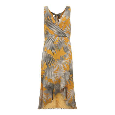 Clementine Ruffle Wrap Dress, ${color}