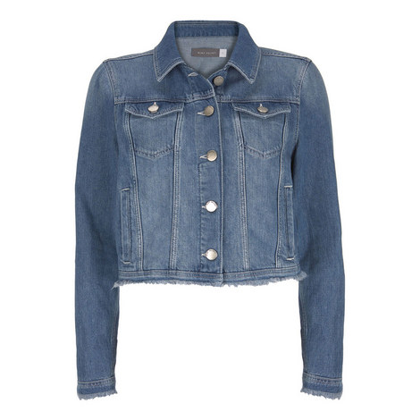 Indigo Denim Western Jacket, ${color}