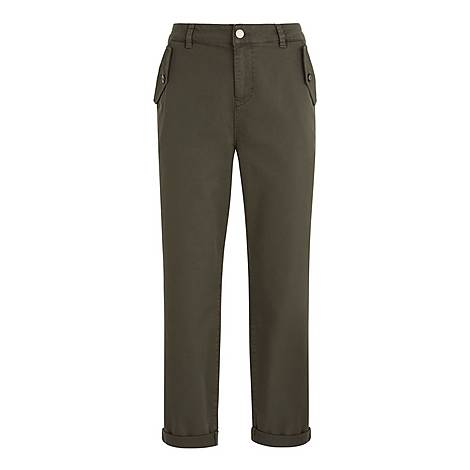 Button Pocket Chinos, ${color}