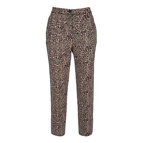 Philippa Print Capri Trousers, ${color}