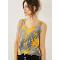 Clementine Print Cami, ${color}